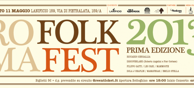 E&#039; tempo di ROMA FOLK FEST